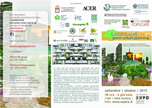 Corso ARPTRA: Landscape and green urban planning